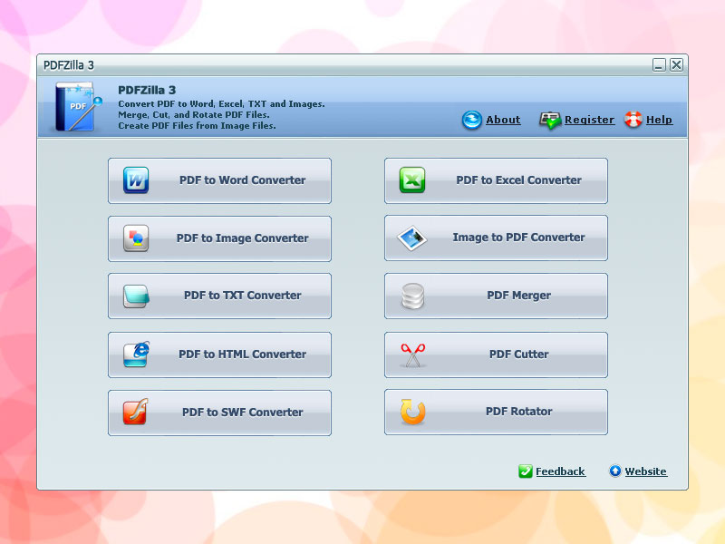Click to view PDFZilla 1.2.9 screenshot